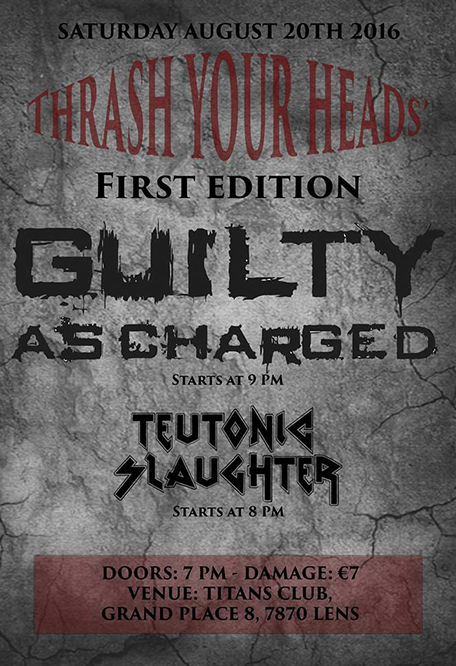 guilty ascharged/teutonic slaughter