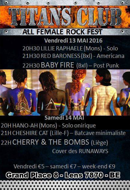 all female rock fest